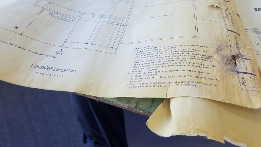 Old Blueprints to show archival capabilities