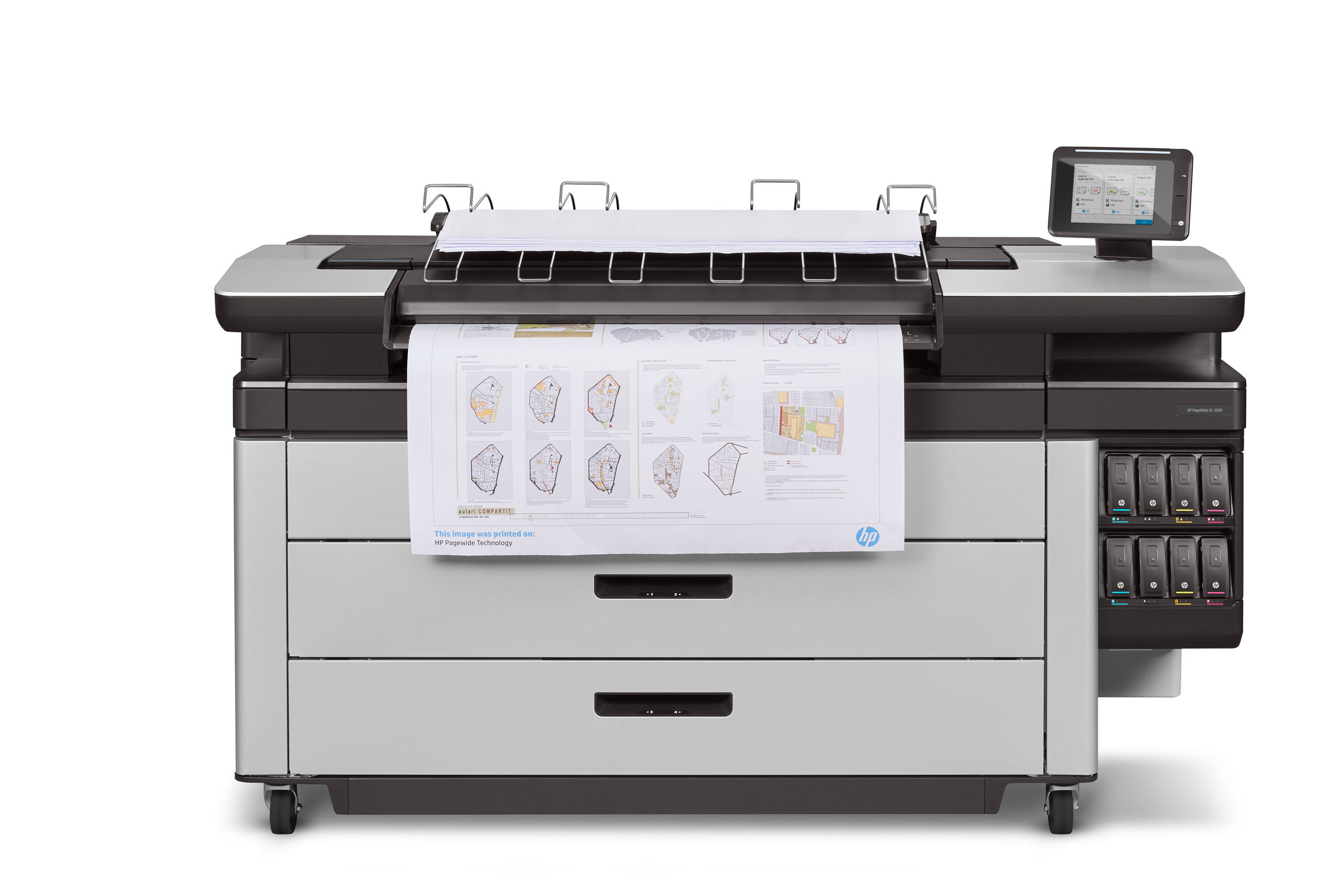Large Format HP PAgeWide